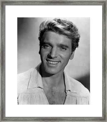 Crimson Pirate, The, Burt Lancaster Framed Print by Everett