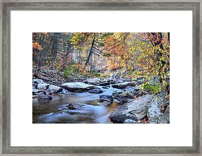 Crisp Autumn Air Framed Print by JC Findley