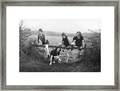 Cross Country Framed Print by J A Hampton