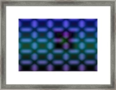Cross-stitch Framed Print by Jimi Bush
