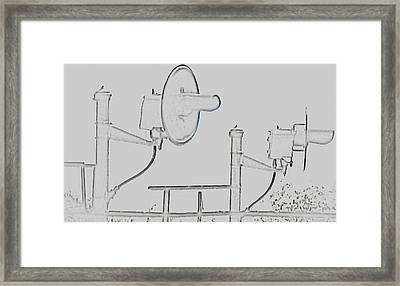 Crossing Framed Print by Tammy Sutherland