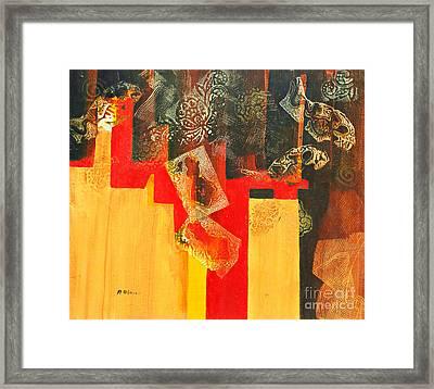 Cruciform Framed Print by Phil Albone