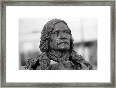 Crying Chief Niwot  Framed Print by James BO  Insogna