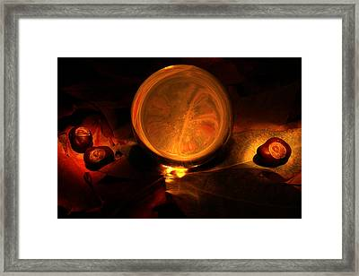 Crystal Ball Framed Print by Fabrizio Troiani