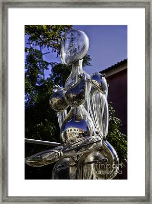 Crystal Lady Framed Print by Madeline Ellis