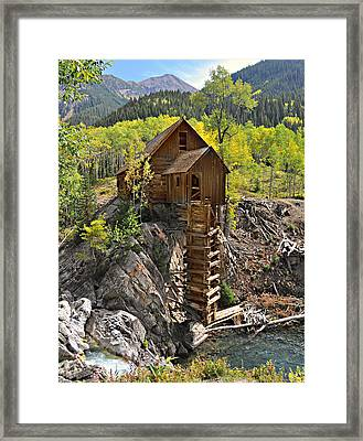 Crystal Mill 4 Framed Print by Marty Koch