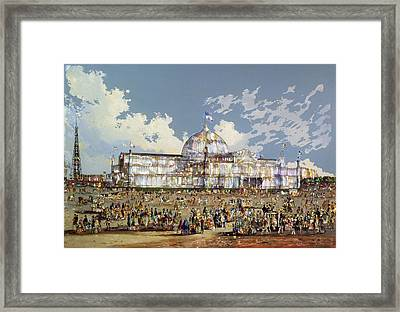 Crystal Palace New York Framed Print by WS Parkes