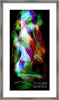 Crystall Chaos Framed Print by Patrick Guidato