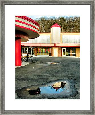 Cuddle Up Pavilion And The Arcade II Framed Print by Steven Ainsworth