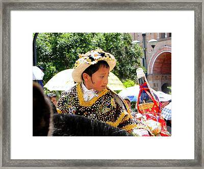 Cuenca Kids 125 Framed Print by Al Bourassa