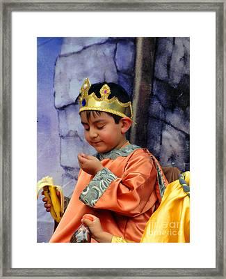 Cuenca Kids 40 Framed Print by Al Bourassa