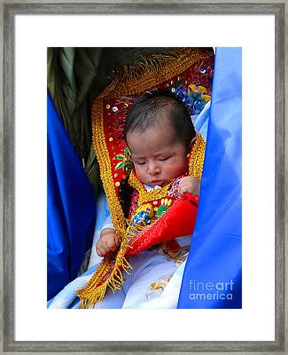 Cuenca Kids 66 Framed Print by Al Bourassa