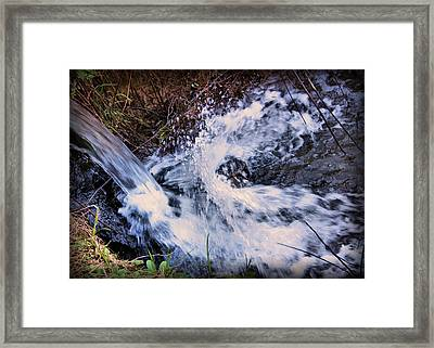 Culleoka Framed Print by Kristin Elmquist