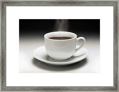 Cup Of Coffee Framed Print by Victor De Schwanberg