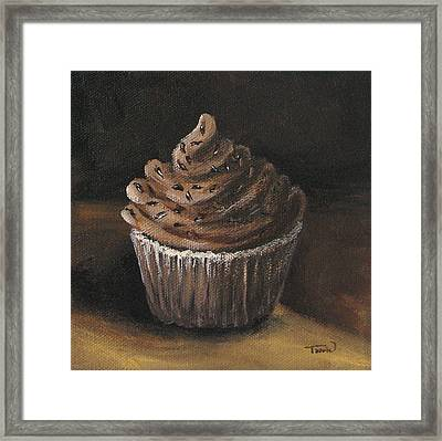 Cupcake 003 Framed Print by Torrie Smiley