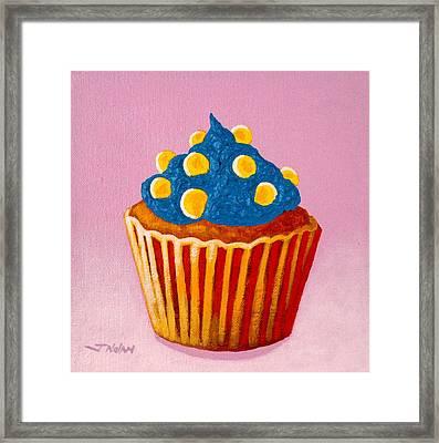 Cupcake  Framed Print by John  Nolan