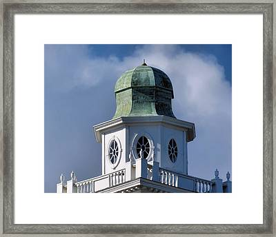 Cupola Framed Print by Janice Drew