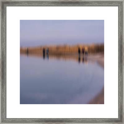 Cupsogue Beach I Framed Print by Bob Retnauer