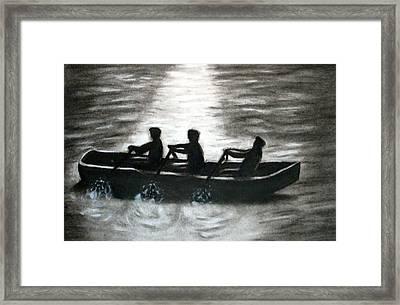 Curach Framed Print by C Nick