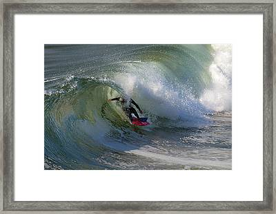 Curled Framed Print by Joe Schofield