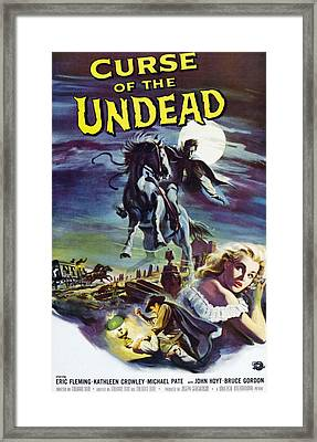 Curse Of The Undead, Bottom Right Framed Print by Everett