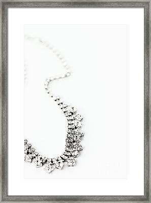 Curvy Framed Print by Stephanie Frey