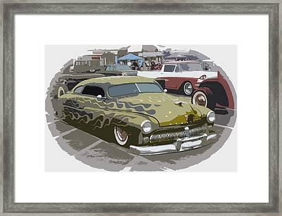 Custom Merc Framed Print by Steve McKinzie