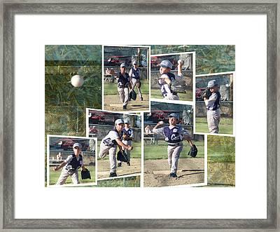 Customize Scrapbooker Sampler Framed Print by Cindy Wright