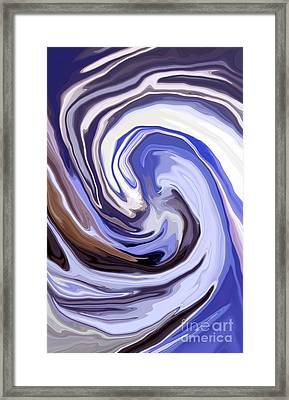 Cyclone Framed Print by Chris Butler