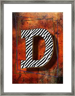 D Framed Print by Mauro Celotti