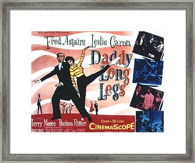 Daddy Long Legs, Fred Astaire, Leslie Framed Print by Everett