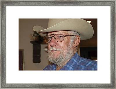 Daddy Framed Print by Teresa Dixon