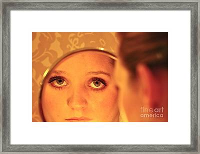 Daddy's Eyes Framed Print by Sherry Davis
