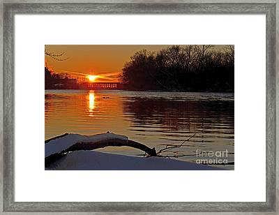 Daily Escape Framed Print by Sue Stefanowicz