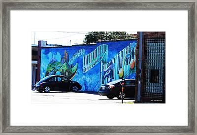 Dallas Street Art 4 Framed Print by DiDi Higginbotham