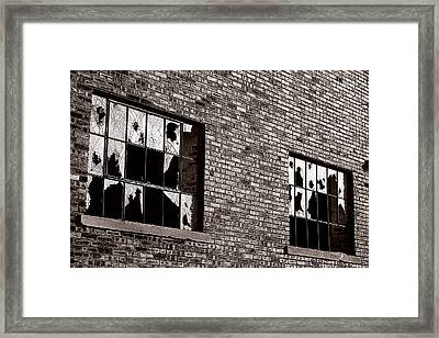 Damaged Framed Print by Scott Hovind