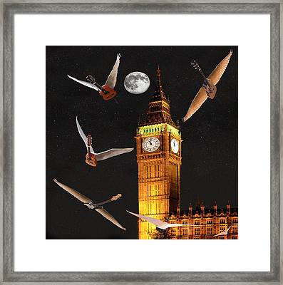 Dance In The Dark Framed Print by Eric Kempson