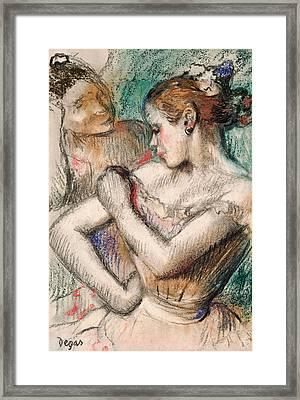 Dancer Framed Print by Edgar Degas