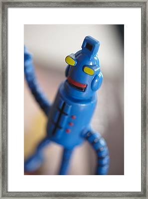 Dancin' Robot Framed Print by Greg Kopriva