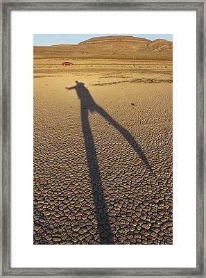 Dancing Fool Framed Print by Mike McGlothlen