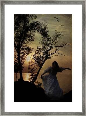 Dancing Girl Framed Print by Joana Kruse