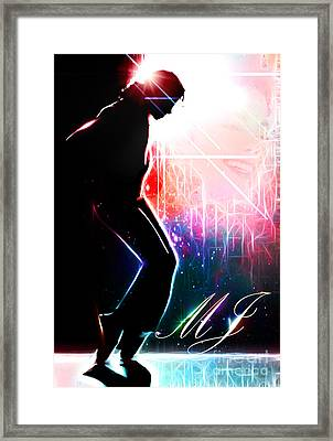 Dancing In The Stars Framed Print by The DigArtisT
