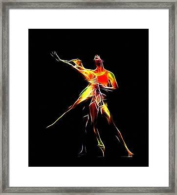 Dancing Lovers Framed Print by Stefan Kuhn