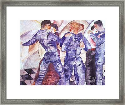 Dancing Sailors Framed Print by Pg Reproductions