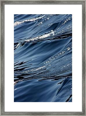 Dancing Waves Framed Print by Marie Jamieson