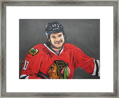 Daniel Carbomb Carcillo Framed Print by Brian Schuster