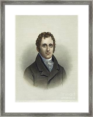 Daniel D. Tompkins (1774-1825) Framed Print by Granger