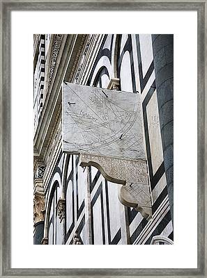 Danti's Astronomical Quadrant Framed Print by Sheila Terry