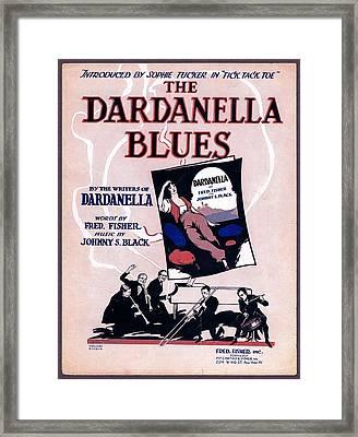 Dardanella Blues Framed Print by Mel Thompson