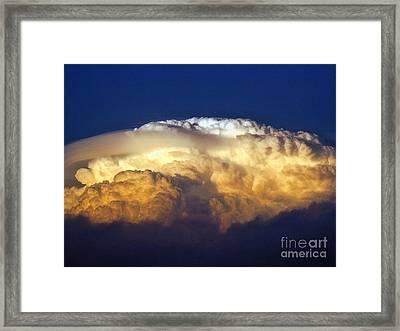 Dark Clouds - 3 Framed Print by Graham Taylor